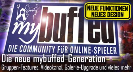 buffed intern: Neues bei mybuffed