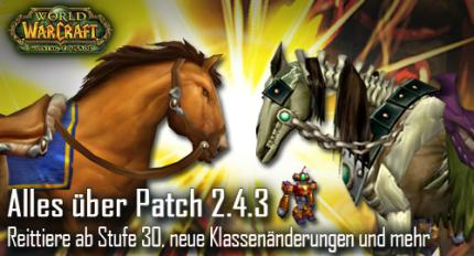 WoW: Patch 2.4.3 ist da!