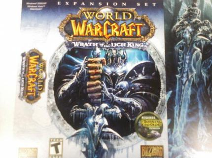 WoW: Packung von Wrath of the Lich King enthüllt?