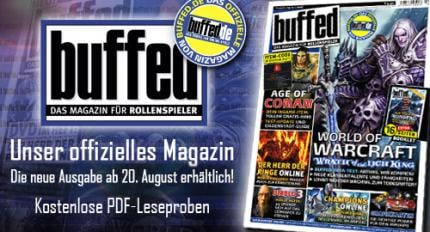 buffed intern: Leseproben des brandneuen buffed-Magazins