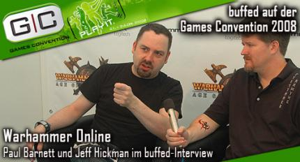 Warhammer Online: Interview mit Jeff Hickman und Paul Barnett