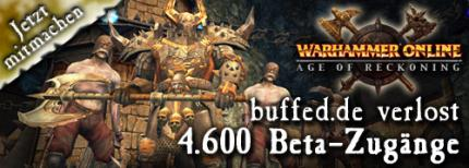 Warhammer Online: Mit buffed in die Beta