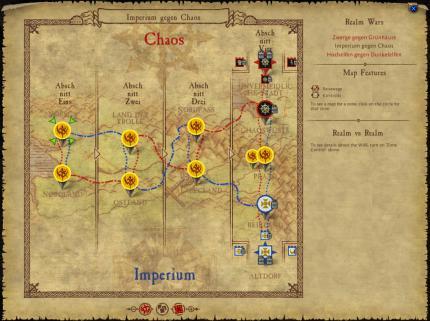 Warhammer Online Die In Game Karten