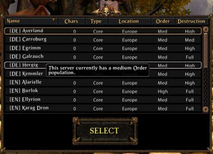 Warhammer Online: Neuer deutscher Beta-Server