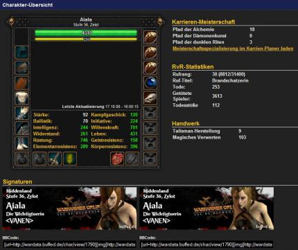 Warhammer Online: Neues Datenbank-Update