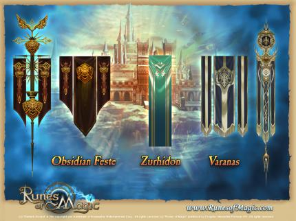 Runes of Magic: Die Fraktionen in Taborea