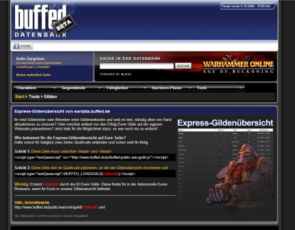 buffed intern: Neue Gilden- features für Warhammer Online