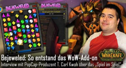 WoW: So entstand das WoW-Add-on Bejeweled