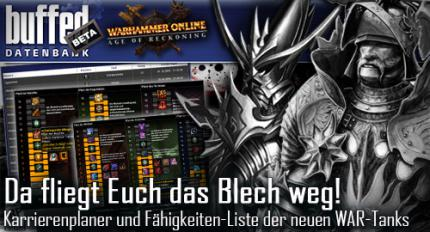 buffed intern: Karrieren-Update in unserer Warhammer-Datenbank
