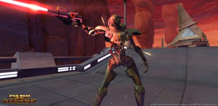 Star Wars The Old Republic: Neue Screenshots und Konzeptgrafiken