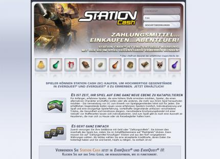 EverQuest 2: Station-Cash als virtuelles Zahlungsmittel
