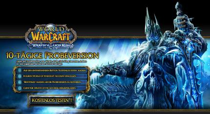 WoW: Wrath of the Lich King kostenlos ausprobieren
