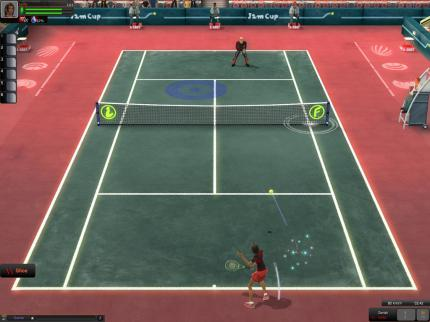 Empire of Sports: Online-Tennismeisterschaft