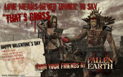 Fallen Earth: Aktion zum Valentinstag