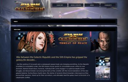 Star Wars: The Old Republic: Online-Comic