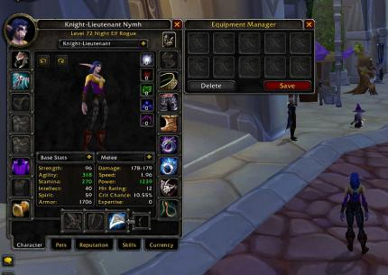 WoW: Kein Equipment-Manager mit Patch 3.1