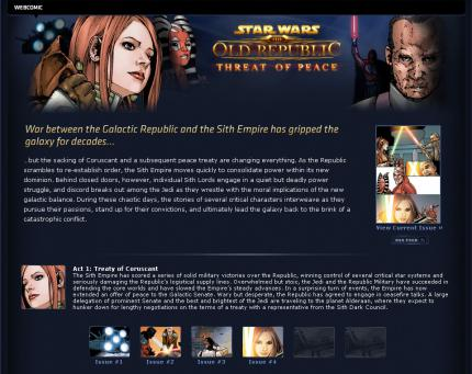 Star Wars: The Old Republic: Web-Comic