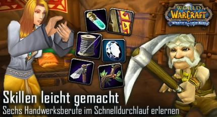 WoW: Berufe-Guides aktualisiert