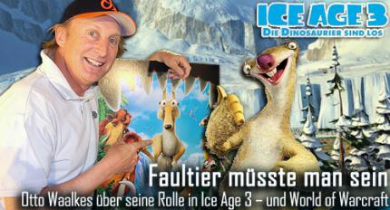 Ice Age 3: Otto Waalkes im buffed-Interview
