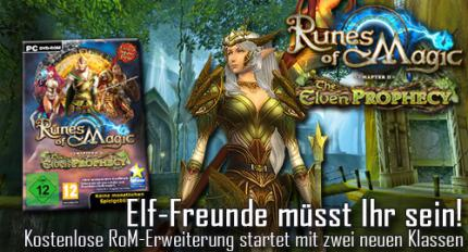 Runes of Magic: The Elven Prophecy startet