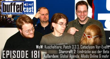 buffedCast Episode 181: WoW, Starcraft 2, Global Agenda, Allods Online und Stargate: Worlds.