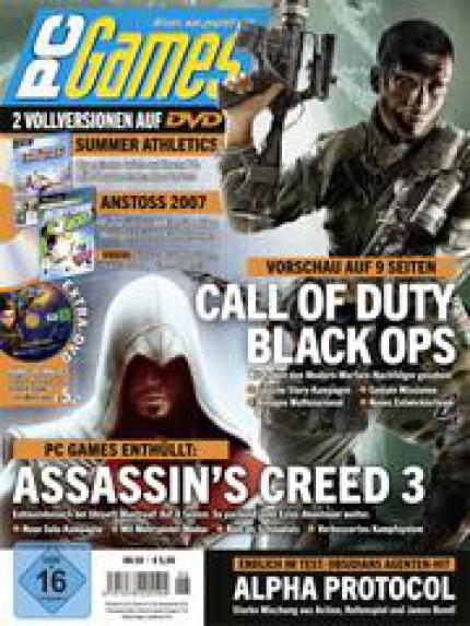 PC Games 06/10 Titelstory: Call of Duty: Black Ops + das neue Assassin's Creed