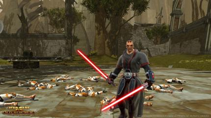 Star Wars: The Old Republic: Neues Video zeigt den Sith-Krieger in Aktion