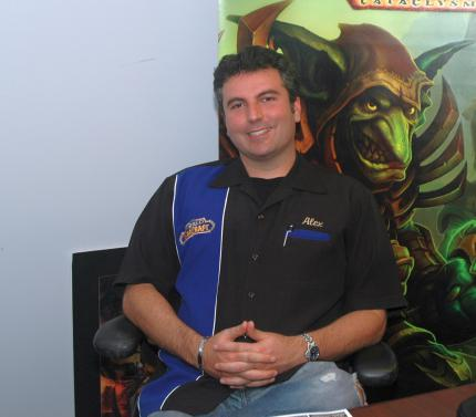 Alex 'Valnoth' Afrasiabi (Lead World Designer World of Warcraft)