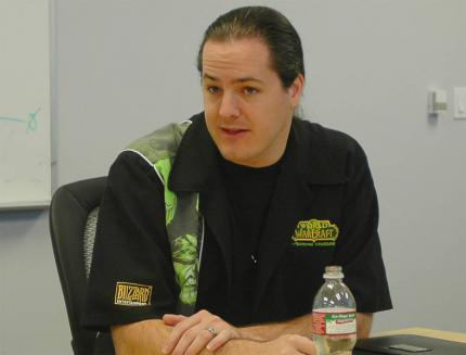 J. Allen Brack (Production Director World of Warcraft)