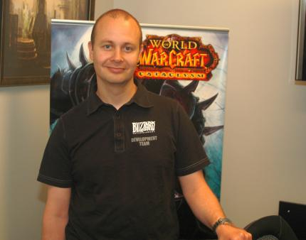 Tom 'Kalgan' Chilton (Game Director World of Warcraft)