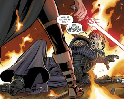 "Star Wars: The Old Republic – ""Blood of the Empire""-Webcomic: Sechste Ausgabe"