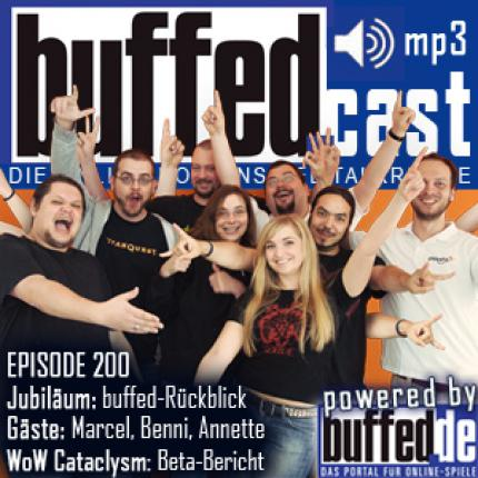 buffedCast 200: Jubiläums-Podcast mit Stargästen!