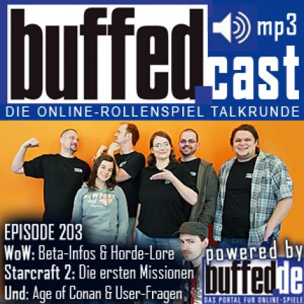 buffedCast 203: WoW Cataclysm, Starcraft 2 & Age of Conan