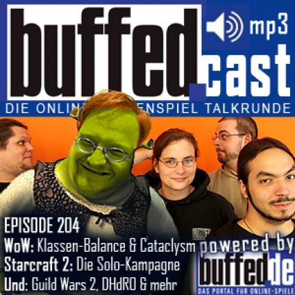 buffedCast 204: WoW Cataclysm, Starcraft 2, Guild Wars 2, DHdRO & Dragon Age 2