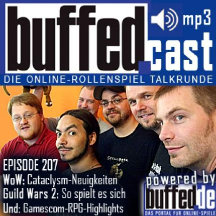 buffedCast 207: WoW, gamescom, Guild Wars 2, Star Wars: The Old Republic, Dragon Age 2