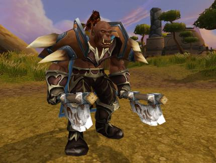 WoW: Garrosh in Nagrand