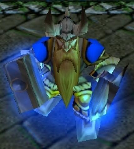 Baelgun als Charakter in Warcraft 3