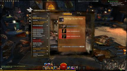 Guild Wars 2: Crafting-Guide - Waffenschmied