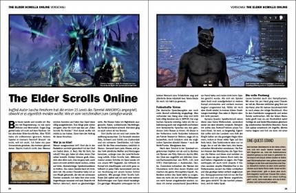 buffed 3-4/2014: Vorschau The Elder Scrolls Online