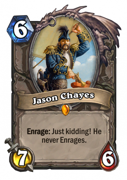 Hearthstone: Production Director Jason Chayes (1)
