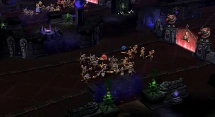 Heroes of the Storm: die Karte Tomb of the Spiderqueen