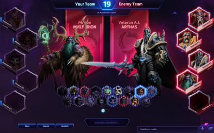 Der Draft-Modus in Heroes of the Storm