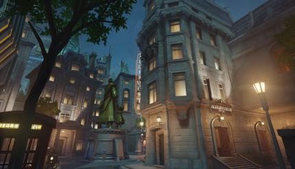 Overwatch Map: King's Row