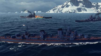 Gerät einem ein Teamkollege unvermittelt in die Quere, besteht in World of Warships oft die Gefahr eines Teamkills per Torpedo.