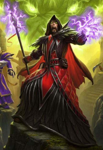 Warcraft: The Beginning - Medivh, von Sargeras besessen (WoW TCG)