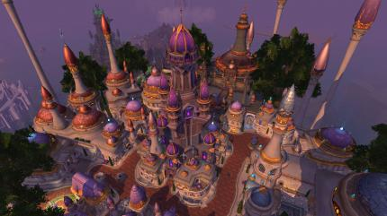 World of Warcraft Legion: Aktuell startet die Alpha/Beta direkt im neuen Dalaran.