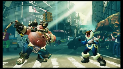 Roadhog in Street Fighter 5