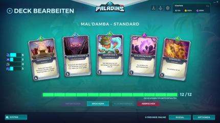 how to play mal damba paladins