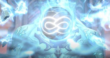 Das Siegel des Kerkermeisters besteht aus einem harten Kern und ist nicht spektral wie die Siegel seiner Geschwister.