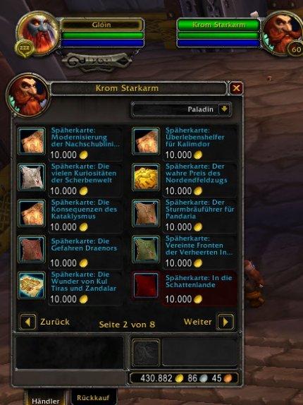 WoW: Patch 9.1.5 bringt Späherkarten für alte Erweiterungen - gegen viel Gold (1)